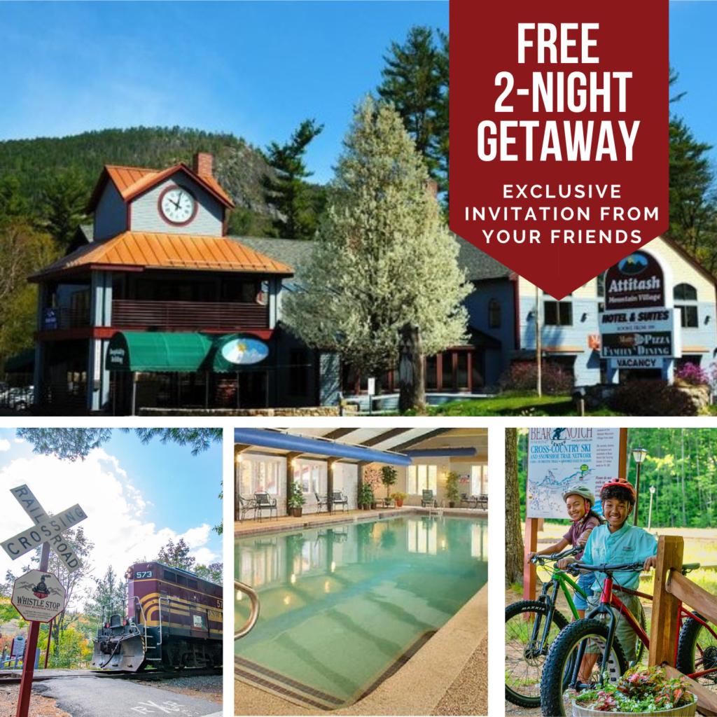 Attitash Mountain Village owner referral getaway