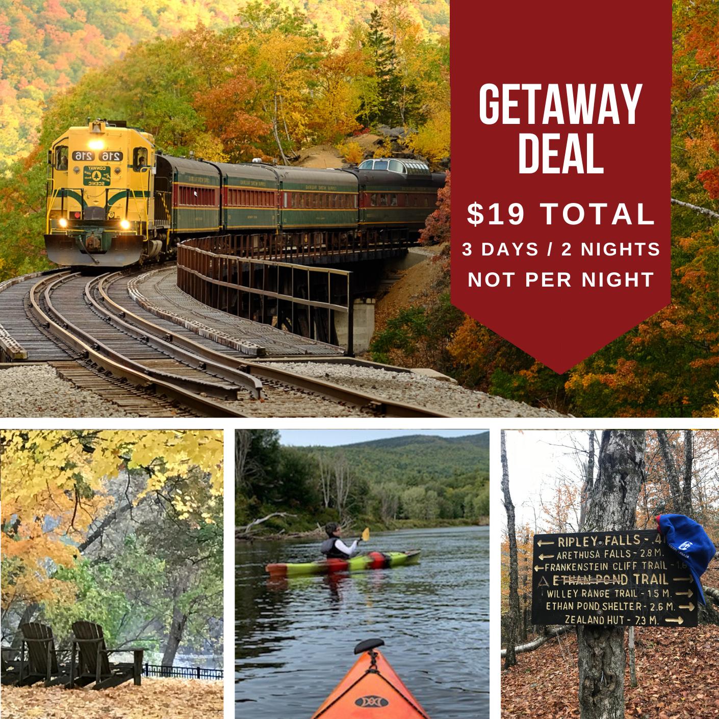 $19 Getaway Attitash Mountain Village